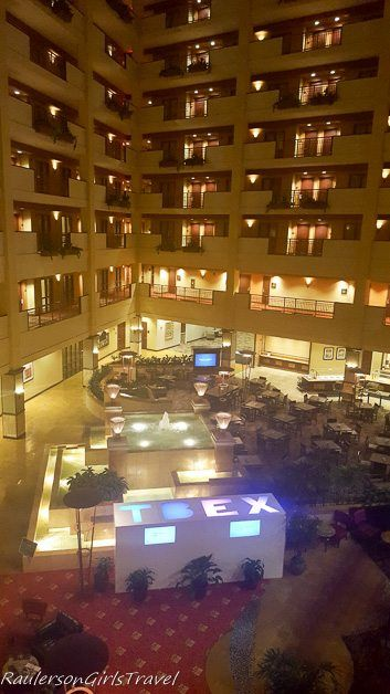 Embassy Suites hotel for TBEX conference