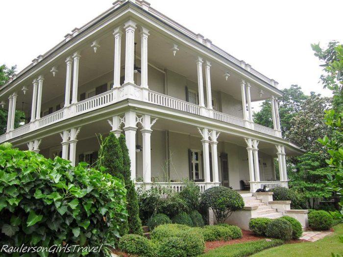 McClung House Twickenham Historic Home Tour Huntsville, Alabama