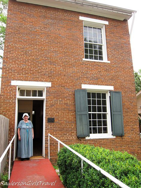 The Clay Building in Constitution Village Huntsville, Alabama