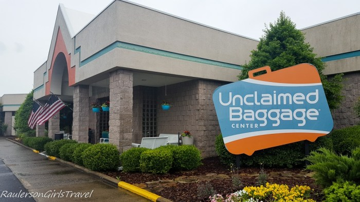 Unclaimed Baggage in Scottsboro,- places to visit in Huntsville, Alabama