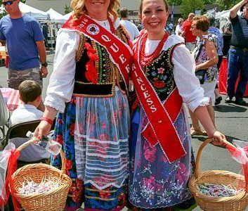 Enjoying the American Polish Festival