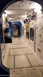 replica of Space Station