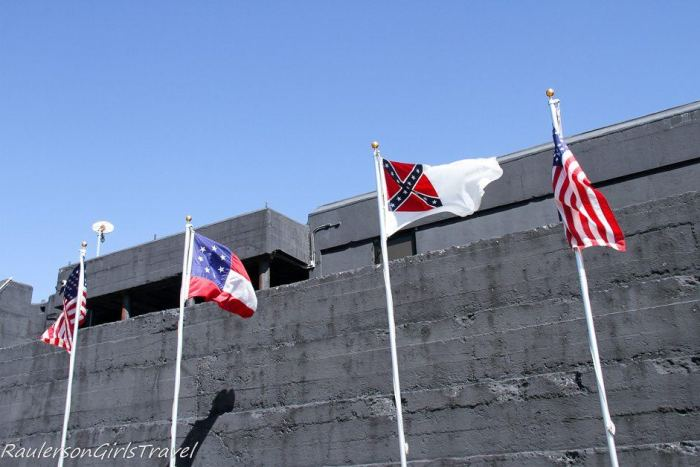 Civil War Flags of Fort Sumter