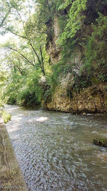 Gorge in Hayden Falls Park
