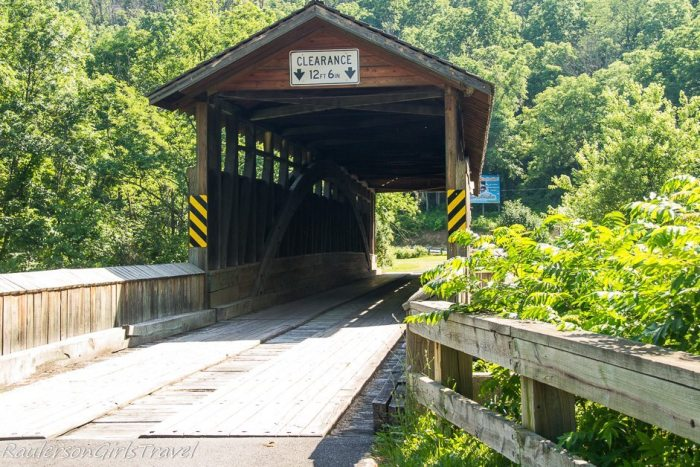 Claycomb Covered Bridge in Bedford County