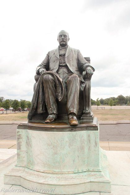 James Scott Memorial Statue at Belle Isle