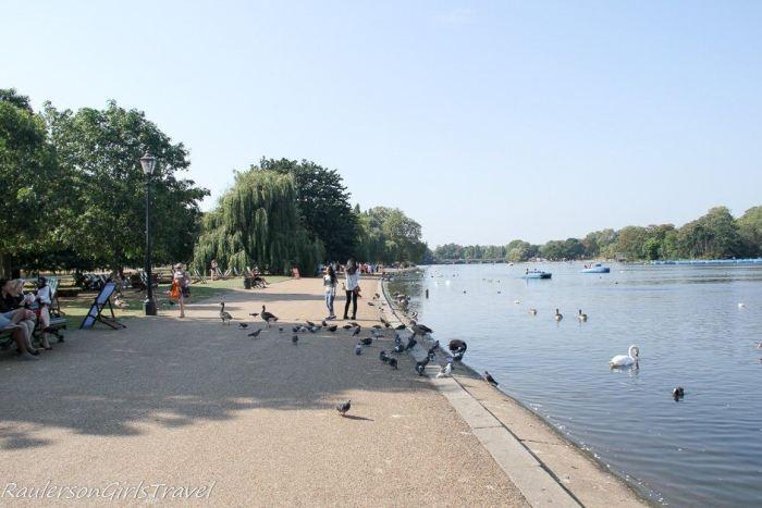 Serpentine Lake in Hyde Park