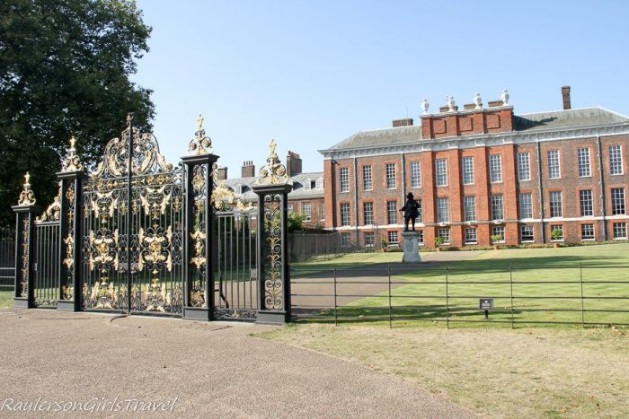 Kensington Palace in London, England