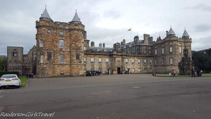 Palace of Holyroodhouse in Edinburgh