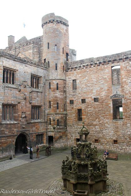 Linlithgow Palace in Scotland