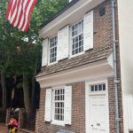 Front of Betsy Ross' House