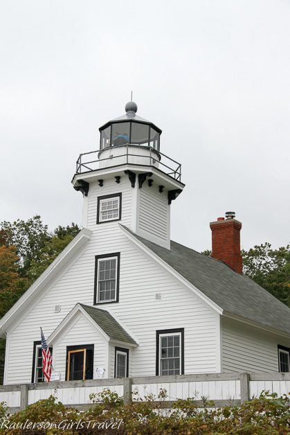 Old Mission Lighthouse in Traverse City, Michigan