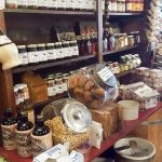 Bins of Food at Old Mission General Store in Traverse City