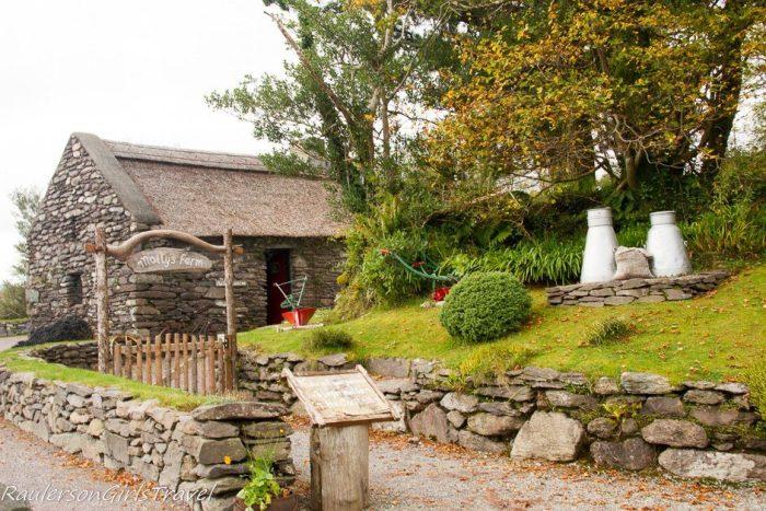 Entrance to Molly Gallivan's Farm