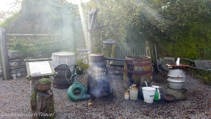 Poitin Still at Molly Gallivan's Cottage and Traditional Farm