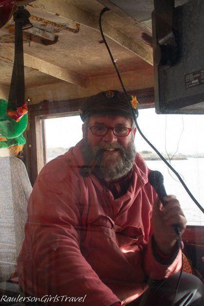 Captain Raymond on the Seafari