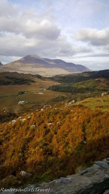 Fall color in the Ring of Kerry