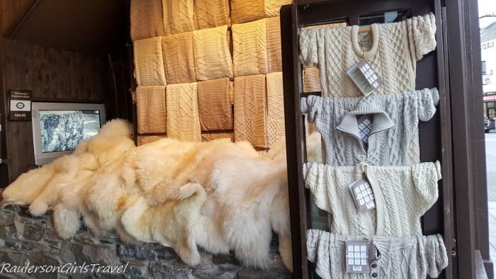 Aran Sweater store in Killarney Ireland