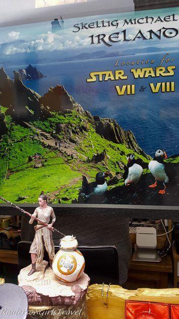 Skellig Michael Star Wars film location