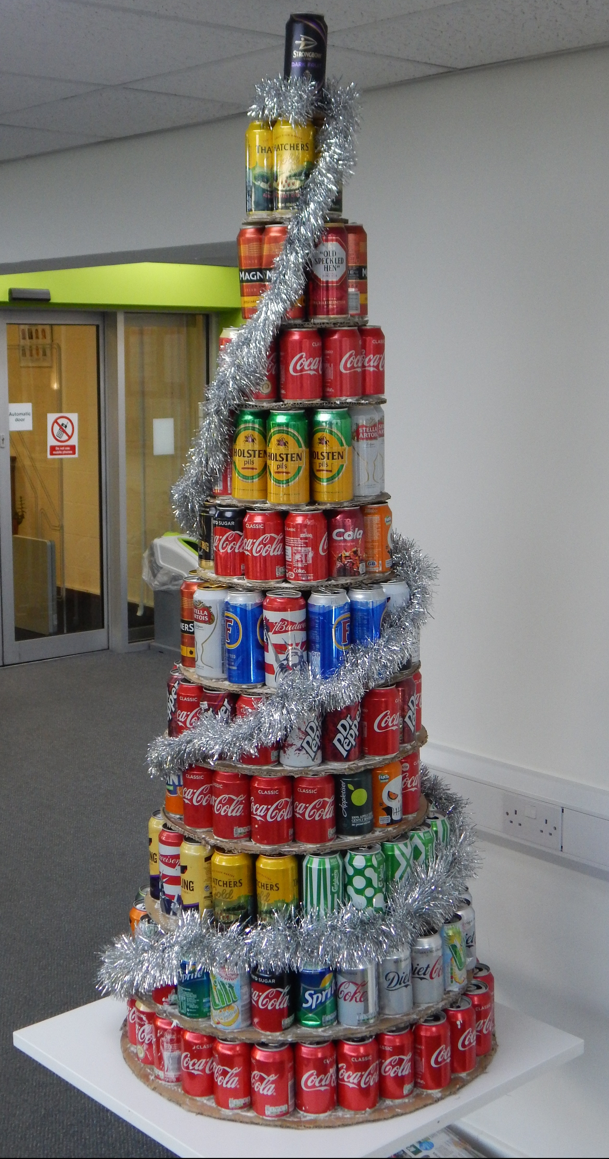 Christmas Trees Made From Re Cycled Materials Latest