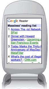 Google Reader ya se puede leer en el movil
