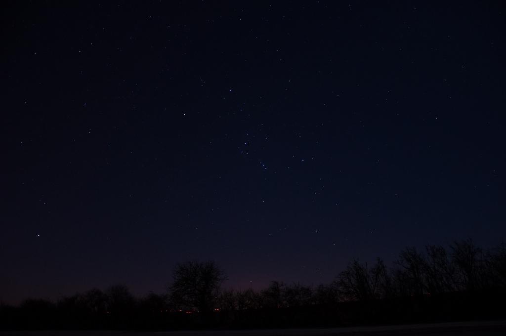 Bestimmt kennen Sie das Sternbild Orion.