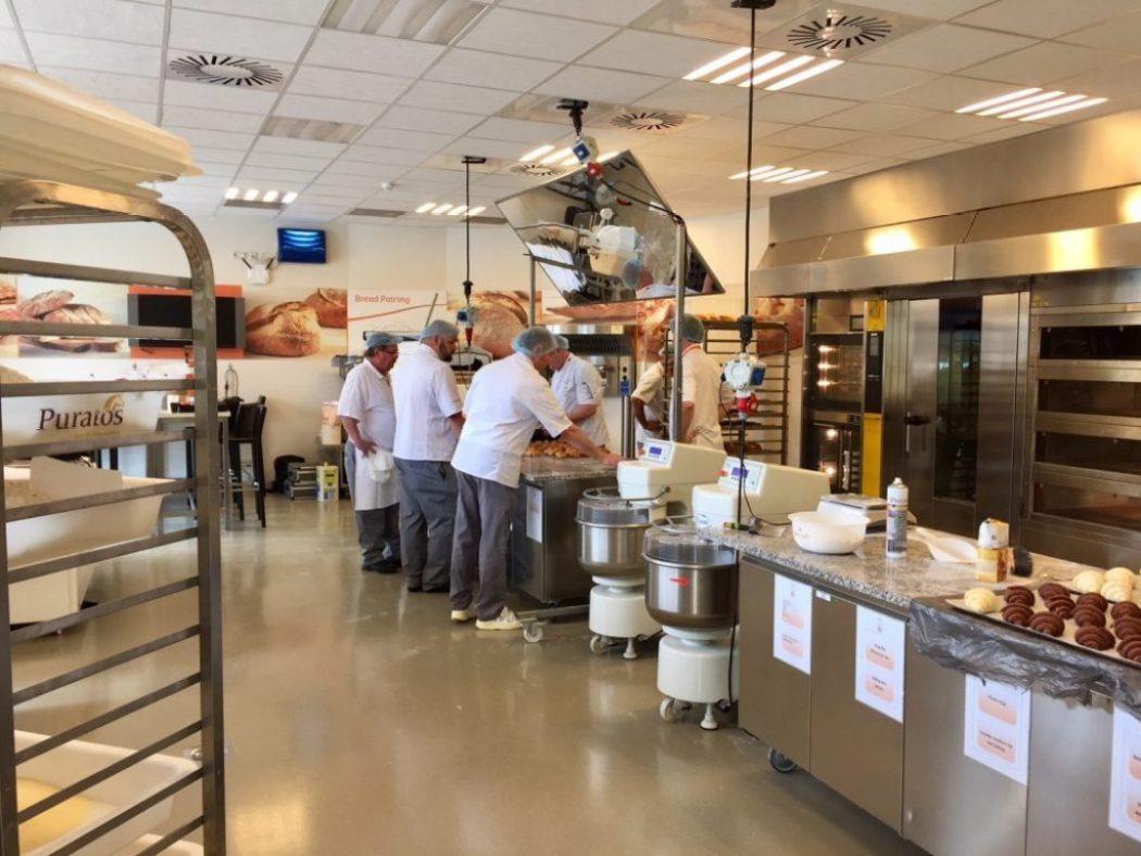 Brot wird bei Puratos in St. Vith gemacht