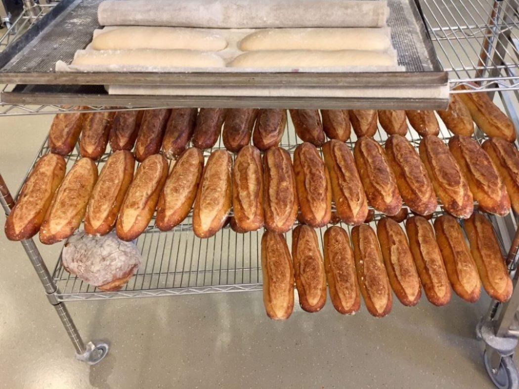 Brot ist mit Sauerteig besonders gut