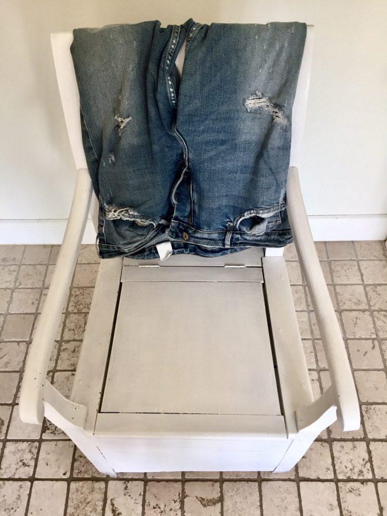 Meine Jeans sollen bei mir bleiben