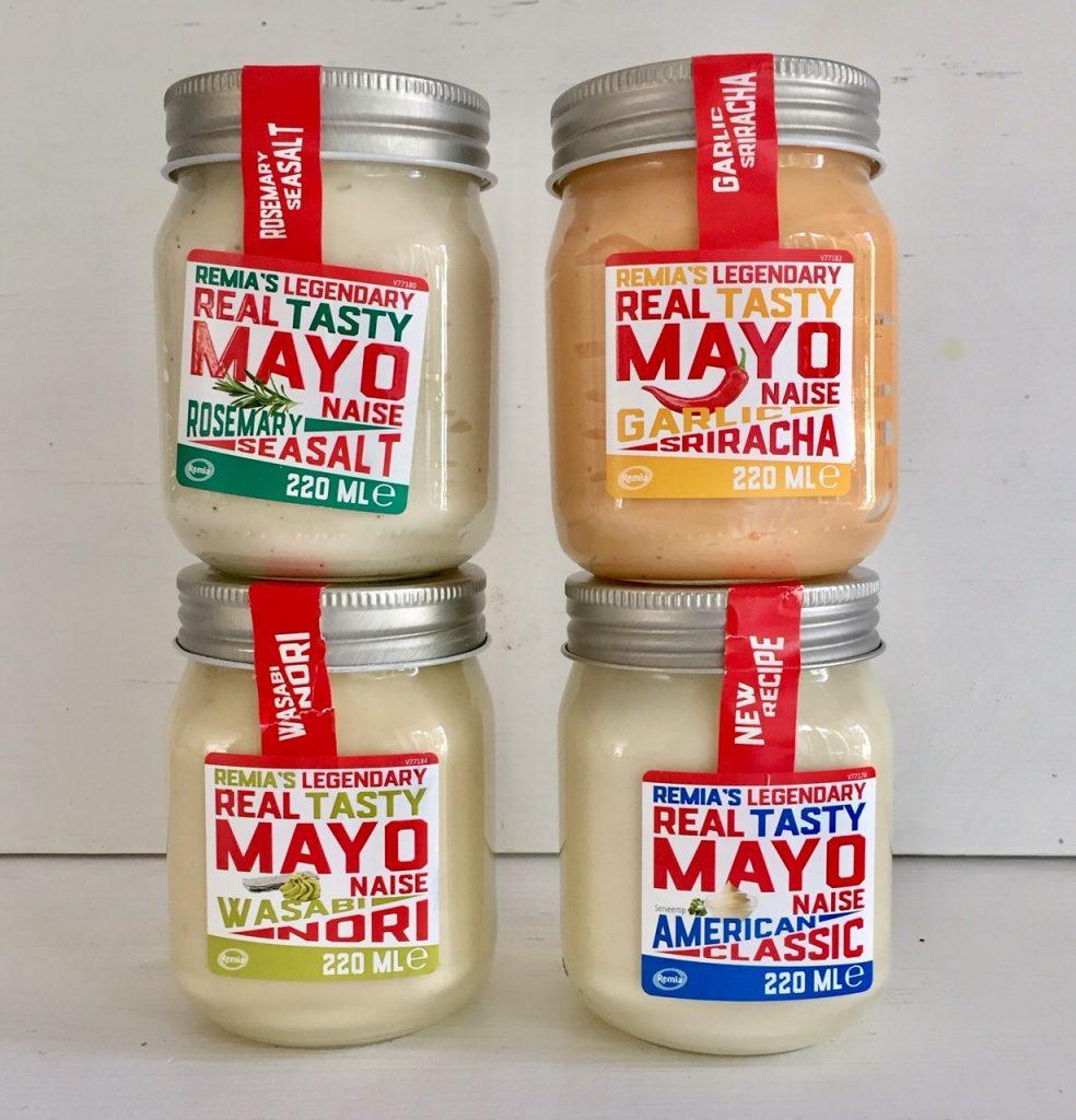 in Holland gibt es die schönsten Mayonaisen.