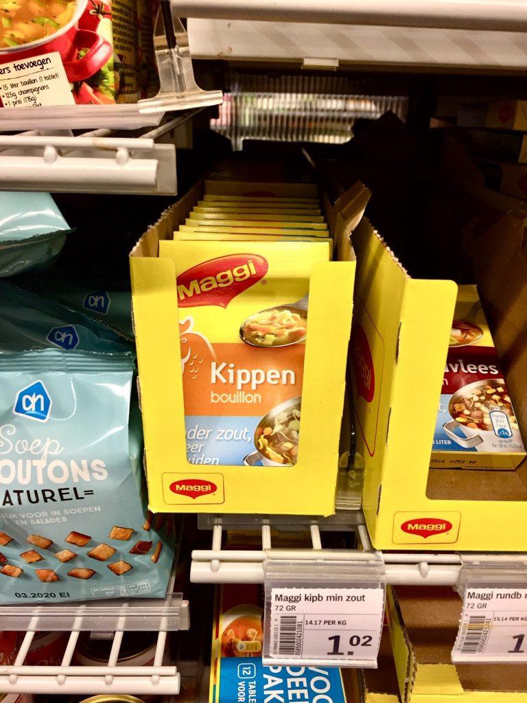 Shopping in Holland bringt mich zum lachen.