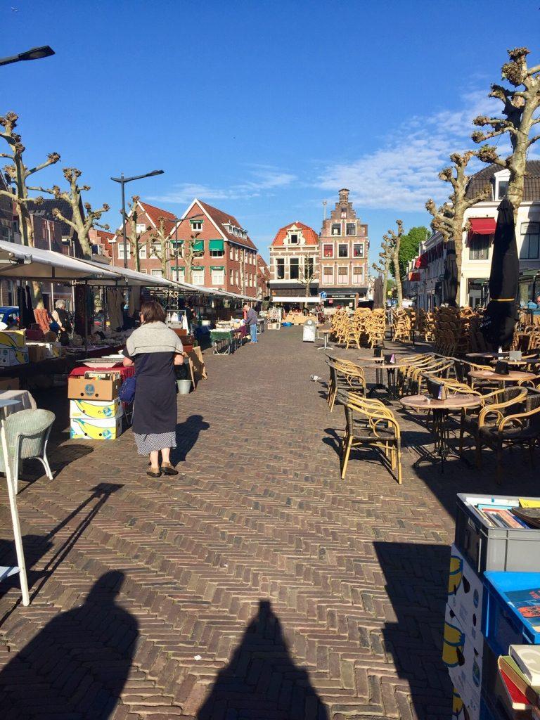 flohmarkt in Haarlem mit passendem Nagellack
