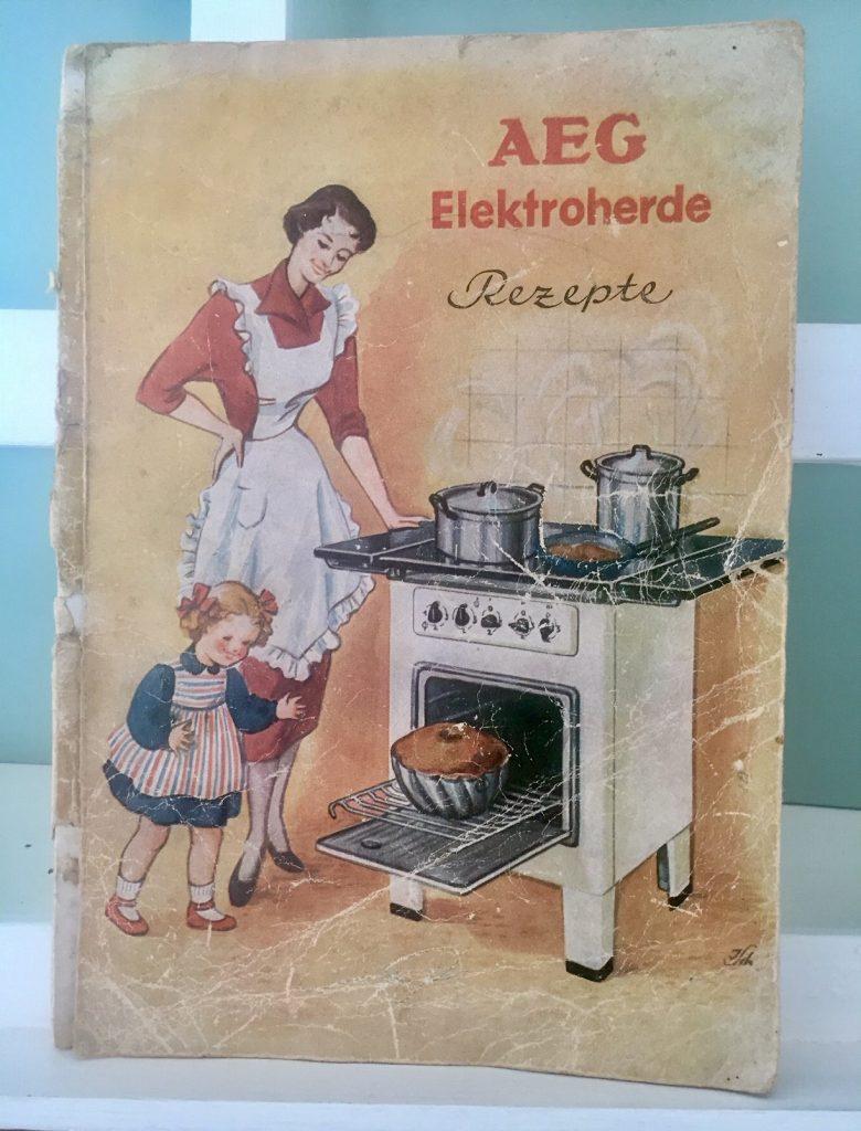 Das Kochbuch aus den 50ern …