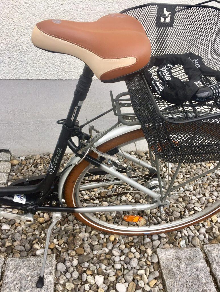 Fahrrad mit verfänglichem Namen