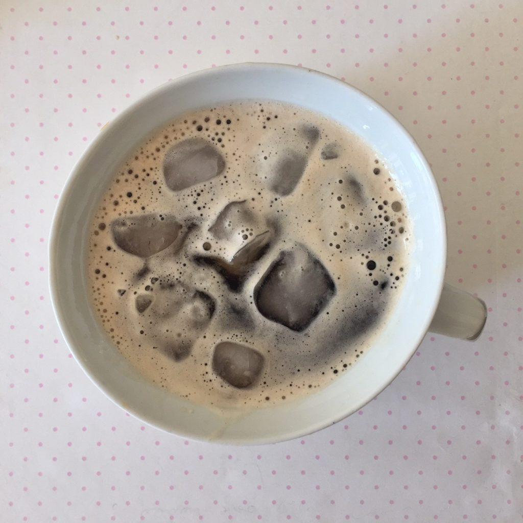 gute zeiten schlechte zeiten kaffee mit eis