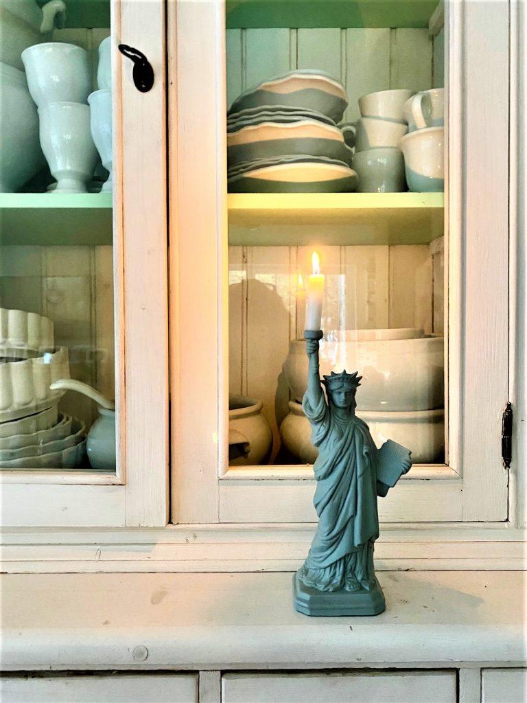 Miss Liberty leuchtet wieder … bei mir Zuhause!