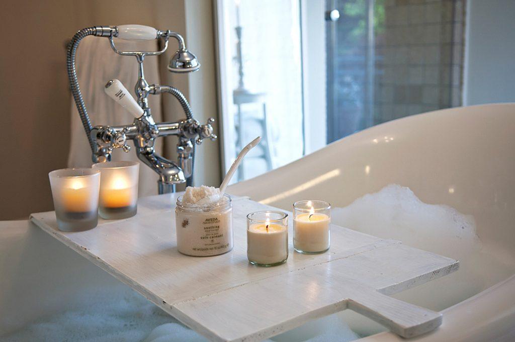 Badezimmer und Kerzen gehören einfach zusammen