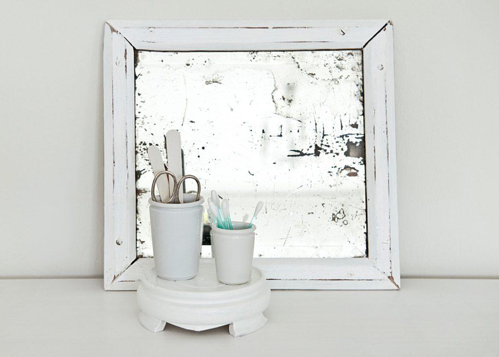 Badezimmer Untersetzer bringen Ruhe ins Kleinteilegewirr.