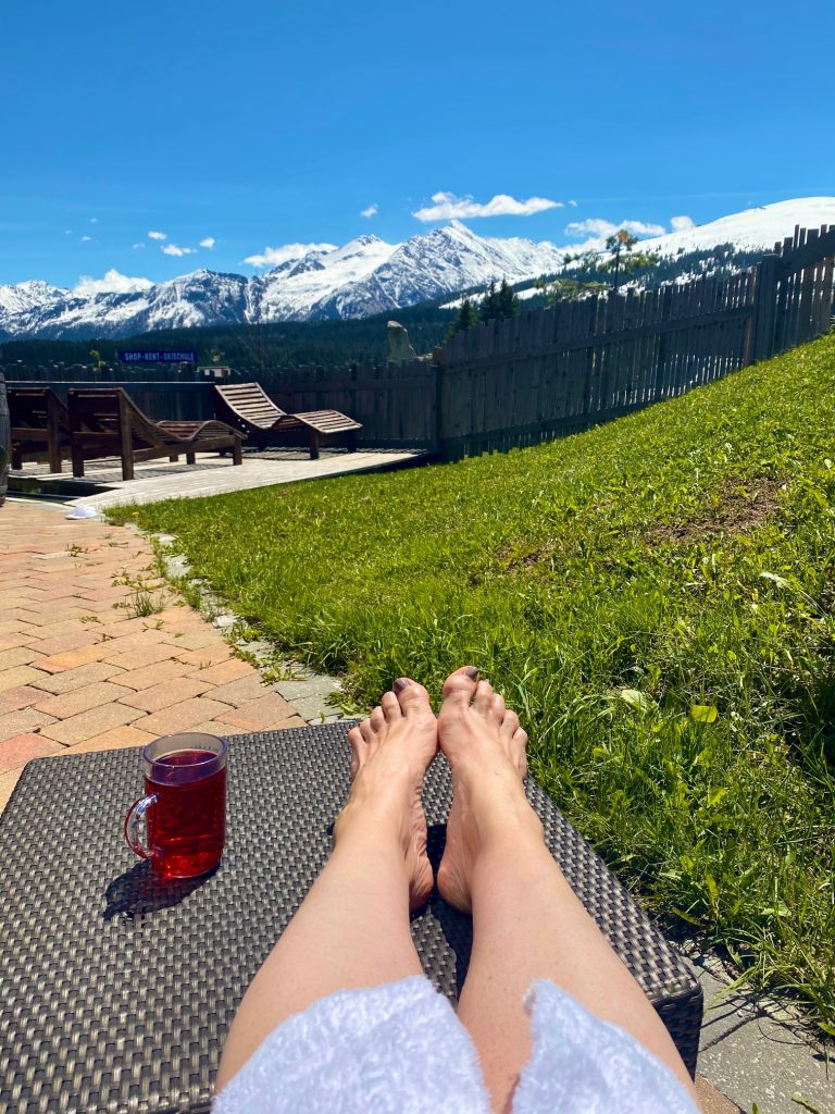 Urlaub mit Tee