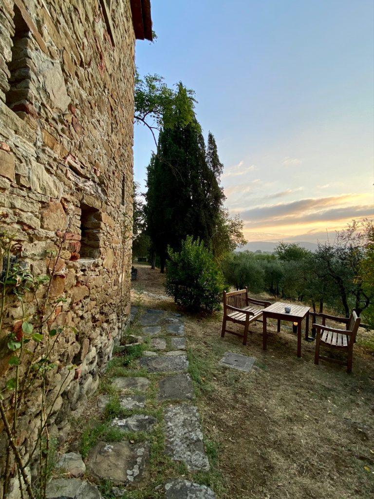 gott mag das Licht in der Toskana