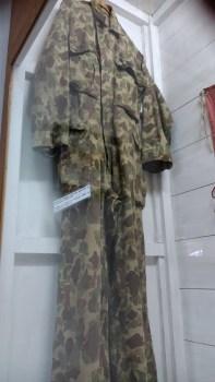 Pakaian loreng tentara Belanda di Indonesia tahun 1949