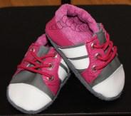 Sneaker-Puschen mit echten Kordeln