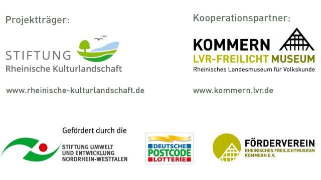 Logo des Projekt- und Kooperationspartner und der Förderer