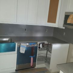 New Kitchen Appliances Sliding Cabinet Doors Before And After Photos Of A Complete Interior Remodel In
