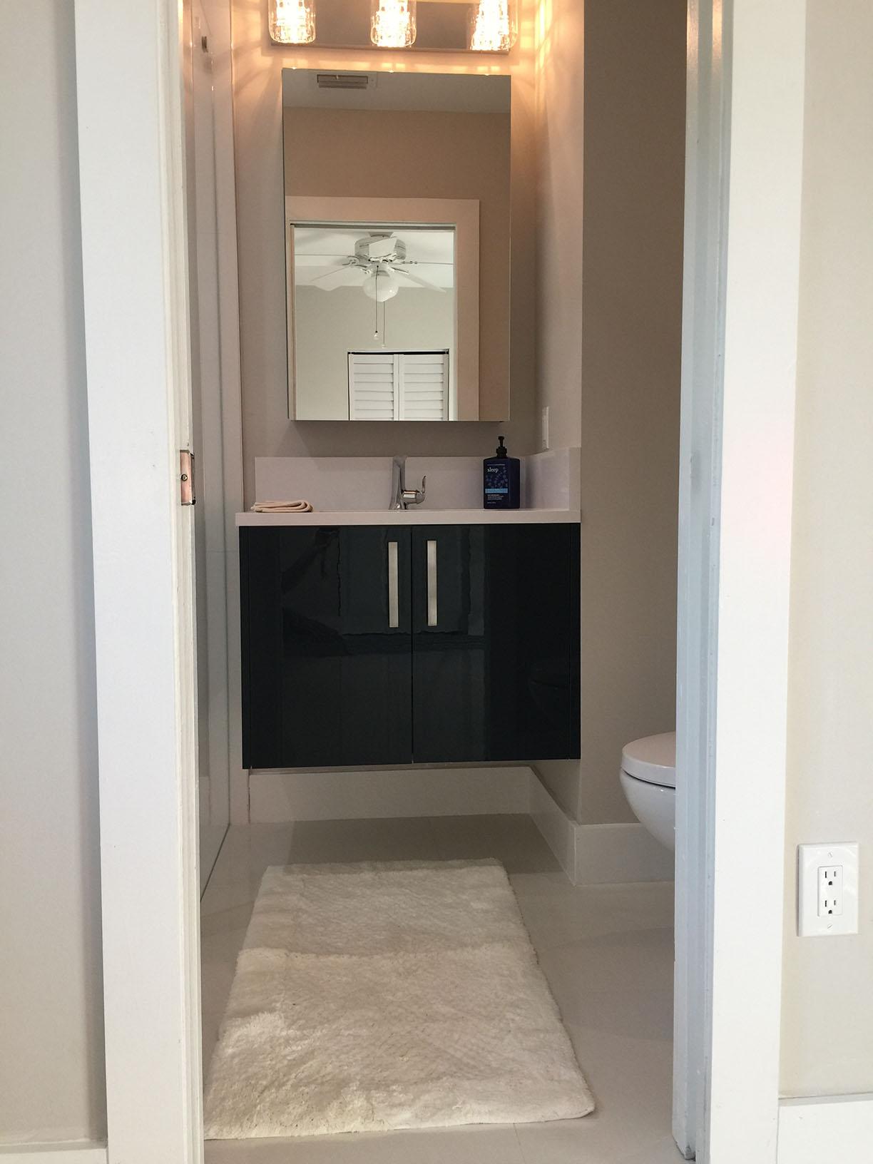 Small Bathroom Remodel in Palmetto Bay  Miami General