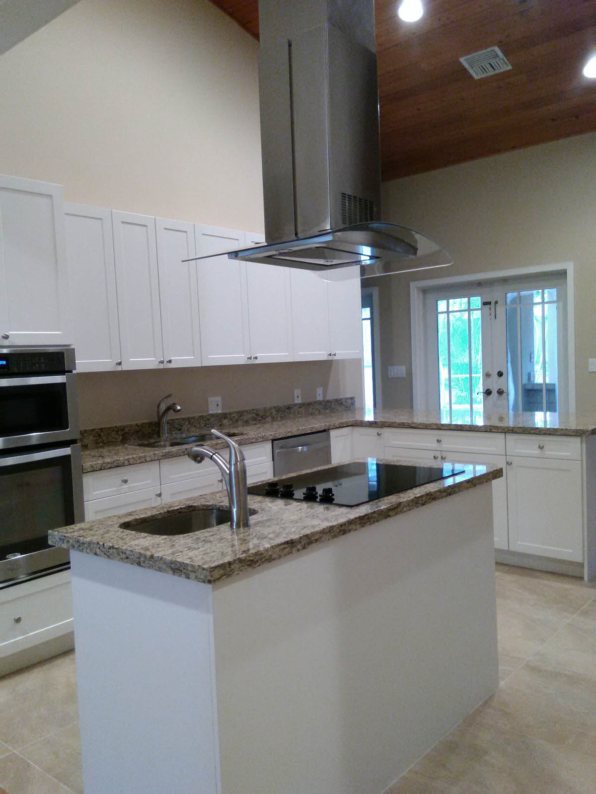 GShaped Kitchen Layout with Island  Miami General Contractor