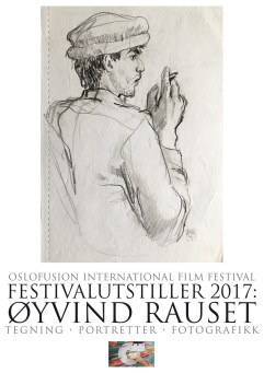 Festival exhibition poster Rauset 2017 at Oslo House of Film.