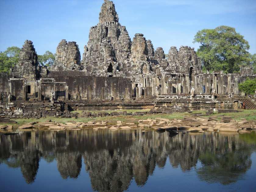 Die Tempel von Angkor sind Teil des Banana Pancake Trail
