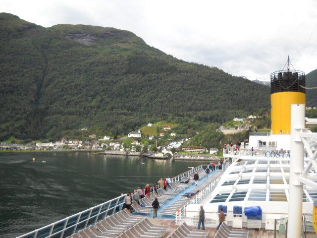 Costa Pacifica im Geirangerfjord