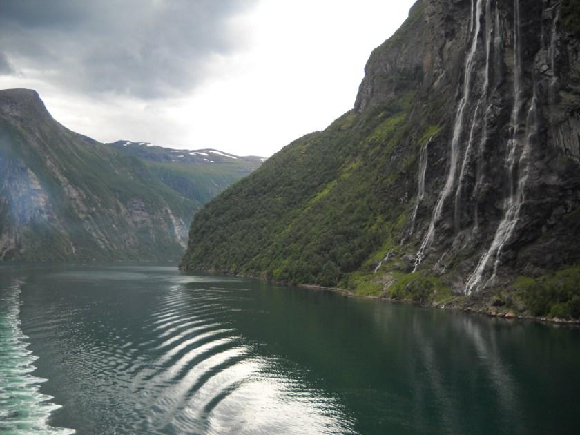 Geirangerfjord sieben schwestern norwegen